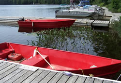 Boat rentals and marina